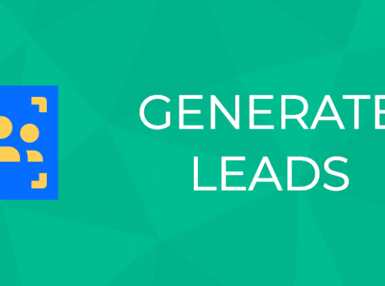 Generate Lead with the Blog